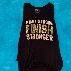 F.I.T Motivational Muscle Tee